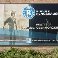 Rudolf Rengshausen: Werbetafel