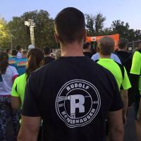 Rudolf Rengshausen Metallspritztechnik beim Business Run: Warten auf den Start