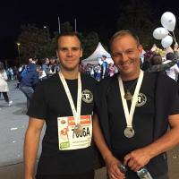 Rudolf Rengshausen Metallspritztechnik beim Business Run: emotionale Unterstützung vom Chef