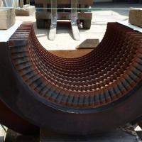 Turbine (Rotor und Leitschaufelblätter): Ansicht vor der Bearbeitung