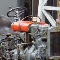 Steyr Traktor T84, Baujahr 1957: Vorher-Ansicht